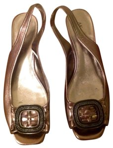 Anne Klein Slingback Beaded Flats