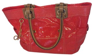 MILLY Tote in Red