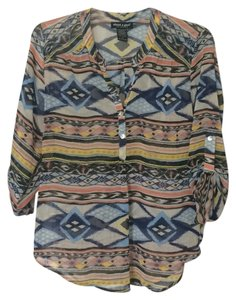About A Girl Top Tribal