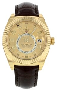 Rolex Rolex Sky-Dweller 326138 18K Yellow Gold Automatic Men's Watch (11612)