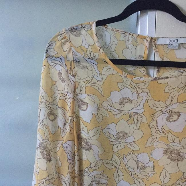 Forever 21 Top Yellow