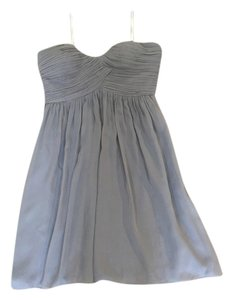 Donna Morgan Bridesmaid Bridesmaid Strapless Chiffon Dress