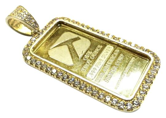 Preload https://img-static.tradesy.com/item/10498084/one-troy-ounce-999-fine-silver-pendant-with-cz-0-1-540-540.jpg