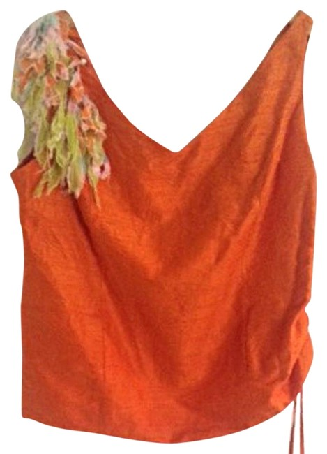 Preload https://item2.tradesy.com/images/orange-silk-night-out-top-size-12-l-10498576-0-4.jpg?width=400&height=650