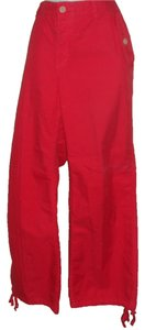 Tommy Hilfiger Cargo Pants Red