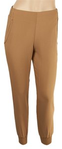 Theory Jogger Relaxed Persha Relaxed Pants Tan