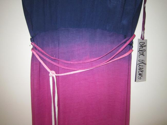 Royal to Fuchsia Ombre' Maxi Dress by Chloe & Oliver