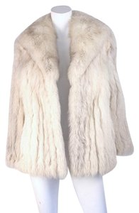 Saga Furs Fur Real Fur Silver Fox Fur Fur Coat