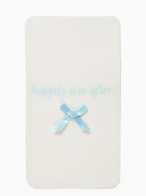 Item - Cream/Blue Happily Ever After Tights