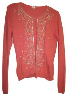 Glam Souls Embellished Embroidered Cardigan