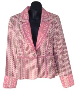 True Meaning Pink tweed Blazer