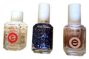 Essie NEW! Essie Blue Luxeffects Nail Polish, Top Coat, Quick-E Drying Drops