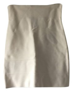 BCBGMAXAZRIA Skirt Cream