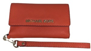 Michael Kors Wristlet in Orange