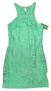 Lilly Pulitzer short dress New Green on Tradesy