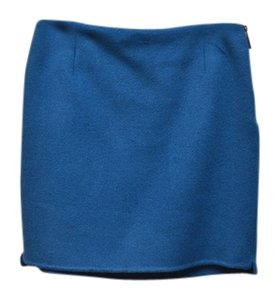 Elie Tahari Mini Skirt blue
