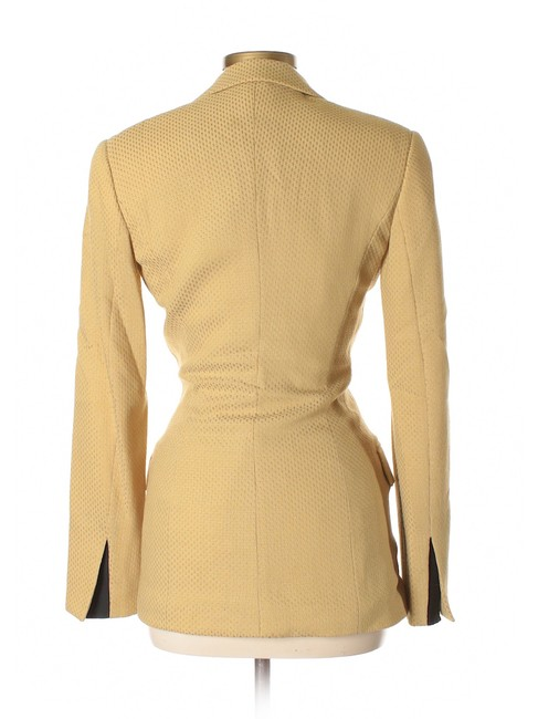 Gianfranco Ferre Gianfranco Ferre Vintage Double Breasted waffle weave skirt suit