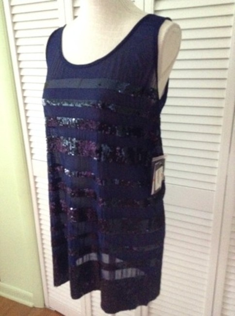 Vince Camuto Vince Camuto Bling Mesh Swim Cover Up