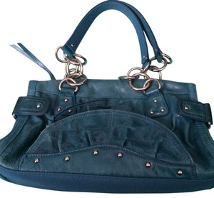 Franco Sarto Satchel in Teal