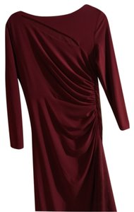 Burgundy Maxi Dress by Ralph Lauren