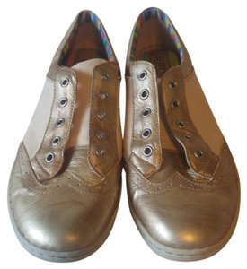 Crown by Børn Leather Oxford Gold Flats