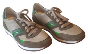 Geox Beige & Green Athletic