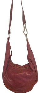 Hobo International Leather Metallic Hardware Hobo Bag