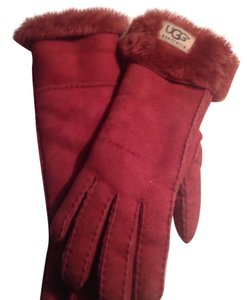 UGG Australia Brand New Tall Ugg's Suede Gloves.