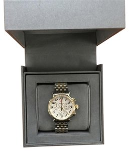 Michele NEW Michele Watch Two-Tone Stainless Steel Sapphire Crystal