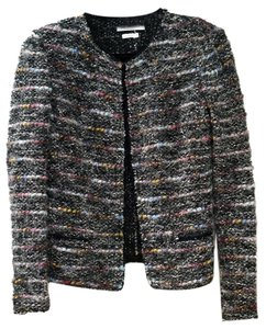 Isabel Marant Etoile Black with metallic and multicolor threads Jacket