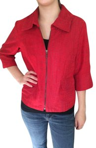 Tribal Studio Red Blazer