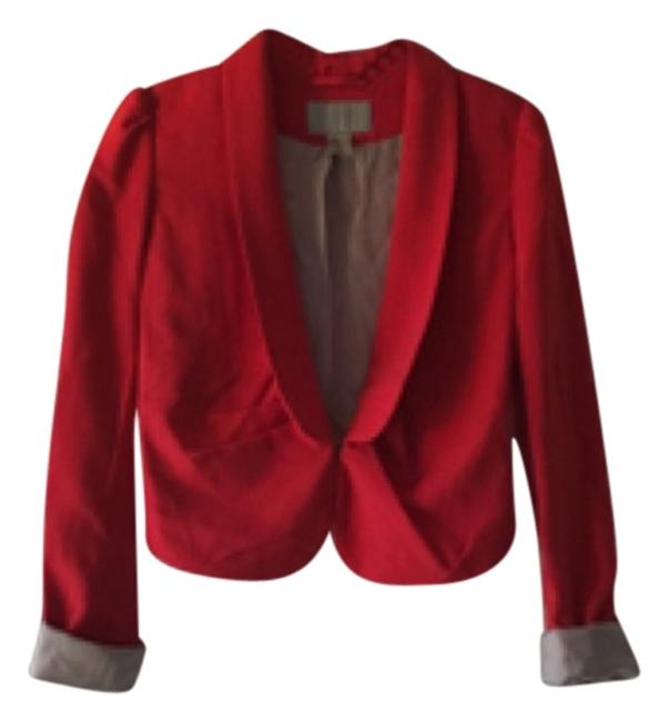 Preload https://item1.tradesy.com/images/h-and-m-coral-blazer-size-4-s-10503490-0-1.jpg?width=400&height=650