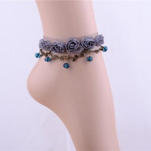 Flower & Lace Anklet/bracelet Free Shipping