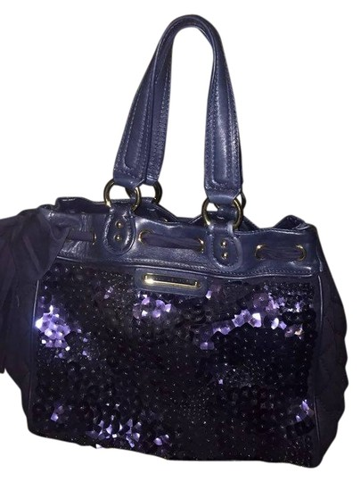Preload https://item5.tradesy.com/images/juicy-couture-sequined-blue-shoulder-bag-10504114-0-1.jpg?width=440&height=440