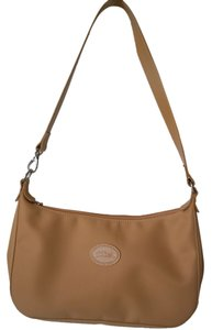 Longchamp Leather Hobo Tan Brown Shoulder Bag