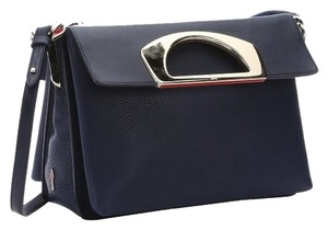Christian Louboutin Leather Top Handles Black Messenger Bag