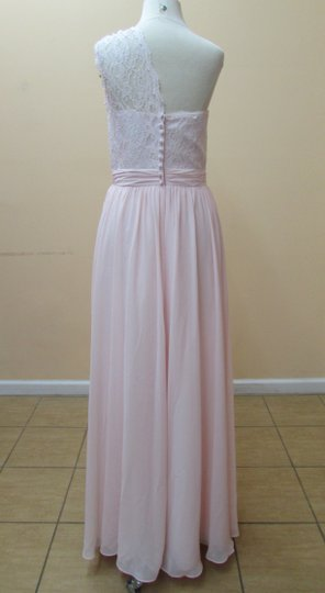 Alfred Angelo Ballerina Lace 543 Modern Bridesmaid/Mob Dress Size 8 (M)