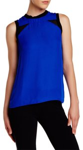 Nicole Miller Top Catalina Blue