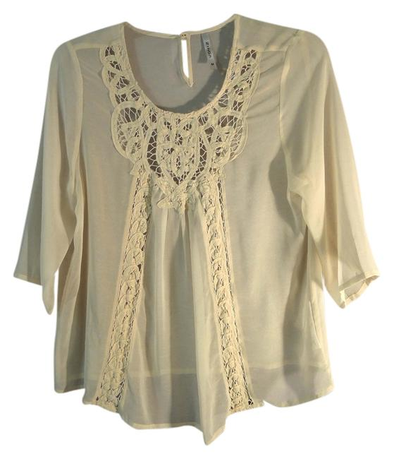 Preload https://item2.tradesy.com/images/ivory-wtn-1497-lace-blouse-size-8-m-10504681-0-1.jpg?width=400&height=650