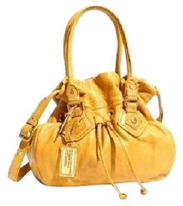 Marc by Marc Jacobs Genuine Italian Leather Satchel in Cashew