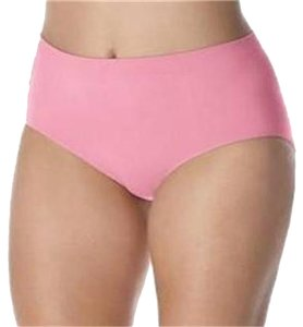 Bali PANTIES BALI COMFORT REVOLUTION SEAMLESS 2PR PINKS 10 11 #803J STRIPED