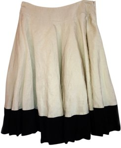 Piazza Sempione Circle Black & White Skirt