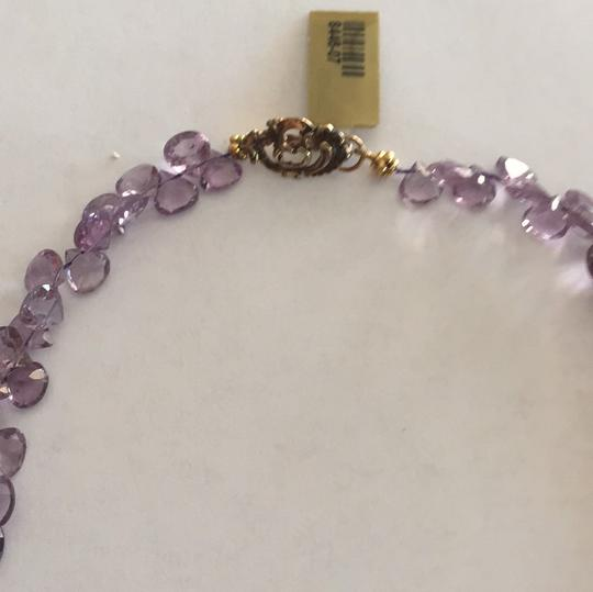 Other Vermeil (silver With Gold Plating) amethyst Necklace.