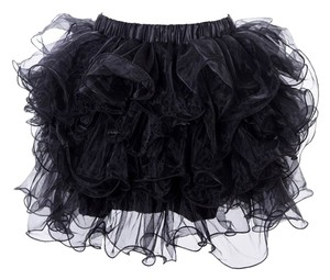 Lang Guang Liren Classic Fashion Women Weddings Mini Skirt Black