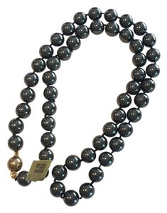 Stunning - 10mm Hematite Bead Necklace