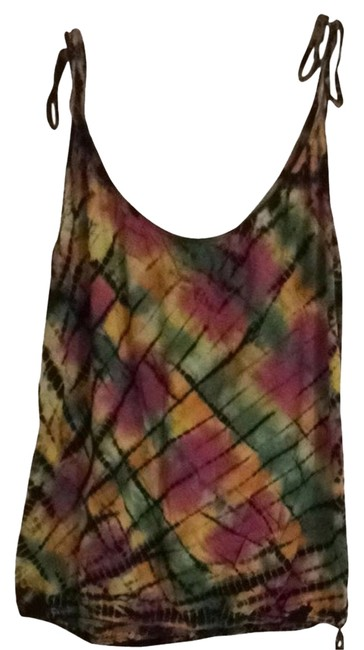 Item - Multi (Tie Dyed) Tank Top/Cami Size 6 (S)