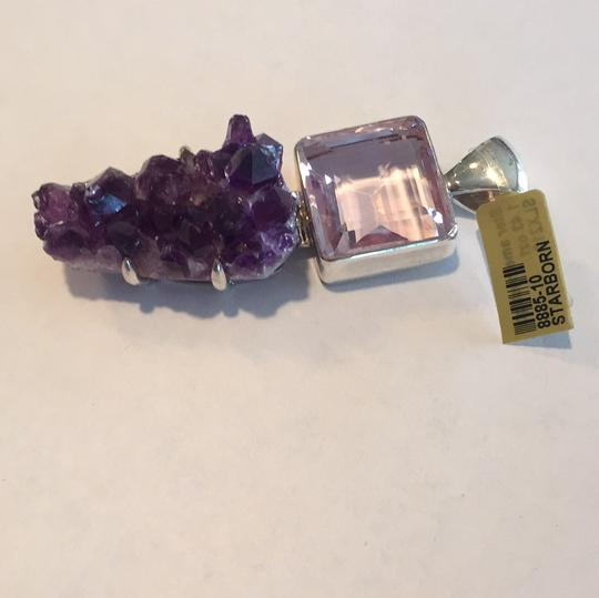 Starborn Starborns Sterling Silver Amethyst Pendant / Necklace