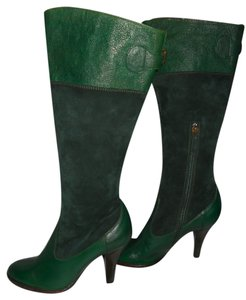 Moschino Green Boots