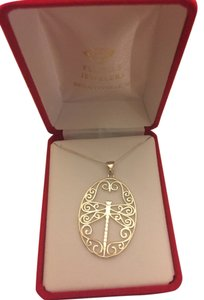 Southern Gates Jewelry Dragonfly Pendant Necklace