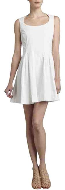 Preload https://item1.tradesy.com/images/zac-posen-white-fit-and-flare-short-casual-dress-size-8-m-10508215-0-3.jpg?width=400&height=650
